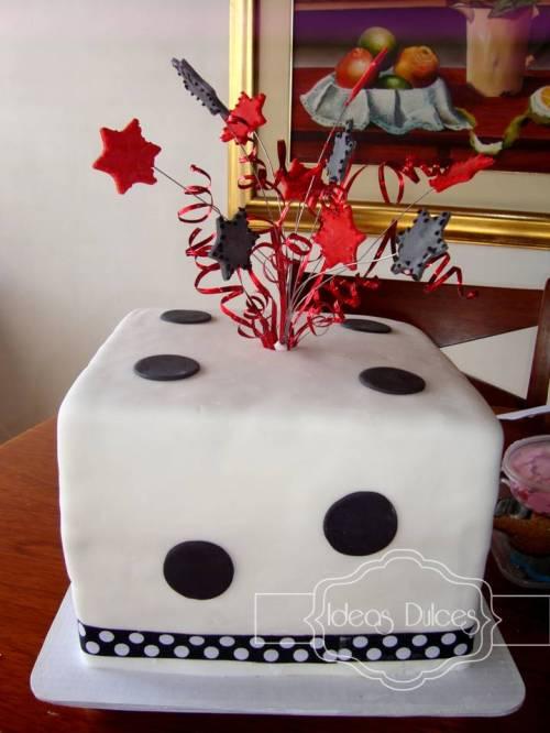 Torta de cumpleaños encargada por Catalina