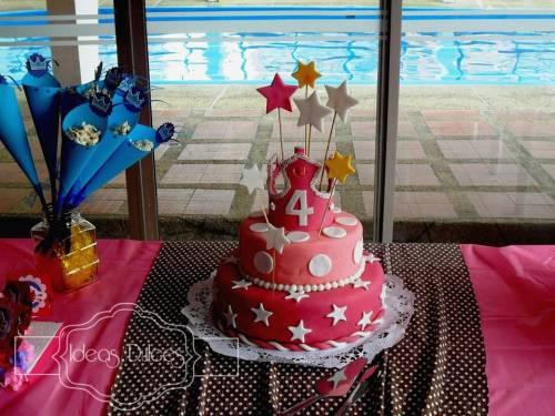 Torta para la fiesta de una princesa