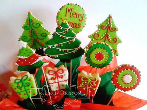 Arreglo de Galletas de Arboles de Navidad-Edición 2011 Lmitada