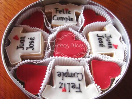 Caja de Galletas para cumpleaños de Juan José
