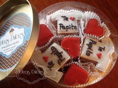 Caja de Galletas para el Cumpleaños del papá de Oscar