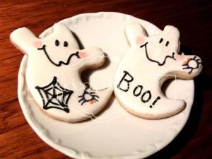 Fantasmas de Halloween párrafo