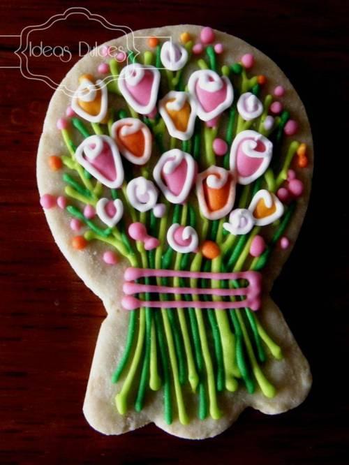Galleta de Ramo de Flores