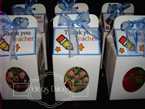 Galletas Para El Día del Profesor