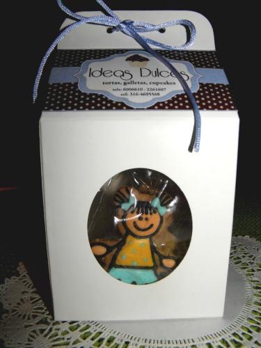 Caja de regalo Con galletas Especiales Para El Día del Niño