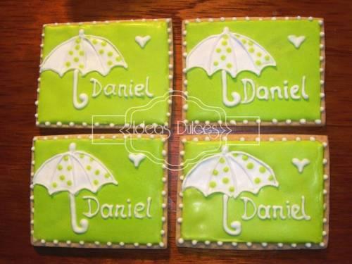 Galletas para el Baby Shower de Daniel