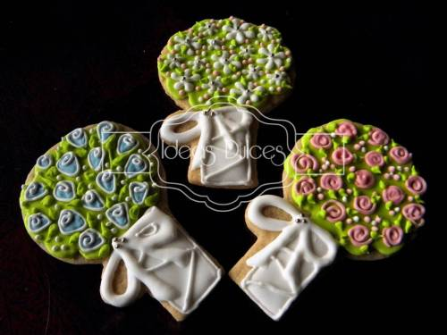 Galletas Bouquets de Novia