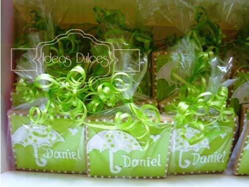 Galletas para el Baby Shower de Daniel