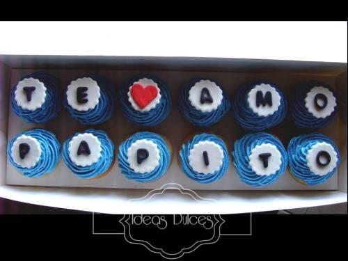 Caja de pastelitos parrafo del Día del Padre