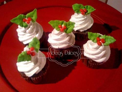 Cupcakes Cupcakes y Mini de Navidad