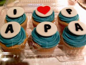 Cupcakes personalizados para el Día del Padre