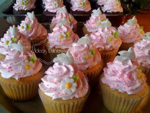 Cupcakes para el Bautizo de Verónica