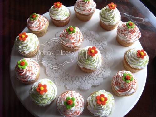 Cupcakes Para El cumpleaños de la hija de Stella