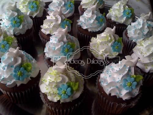 Cupcakes para Baby Shower, Bautizos o Primeras Comuniones