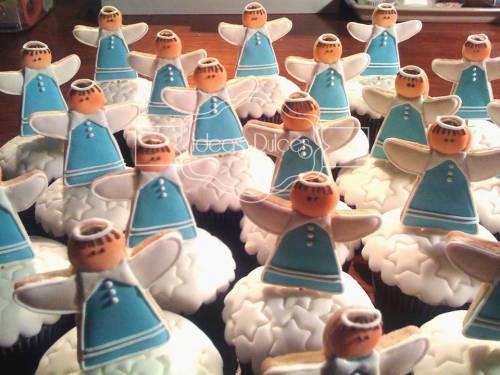 Cupcakes para Bautizos y Primeras Comuniones
