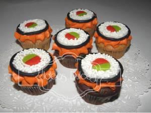 Cupcakes Que Que evocan Sushi El