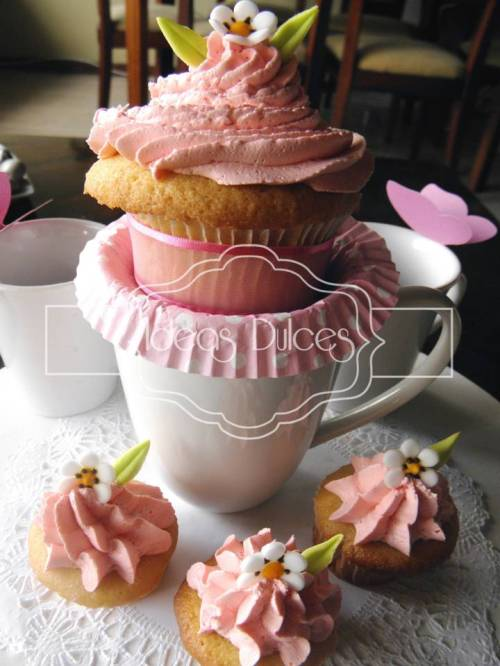 Cupcake y Taza - Edición Especial Día de la Madre