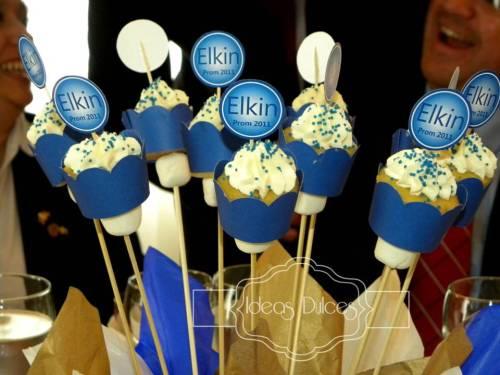 Arreglos Mini Cupcakes de Grado