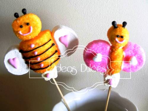 Masmelos de Mariposa y Abeja