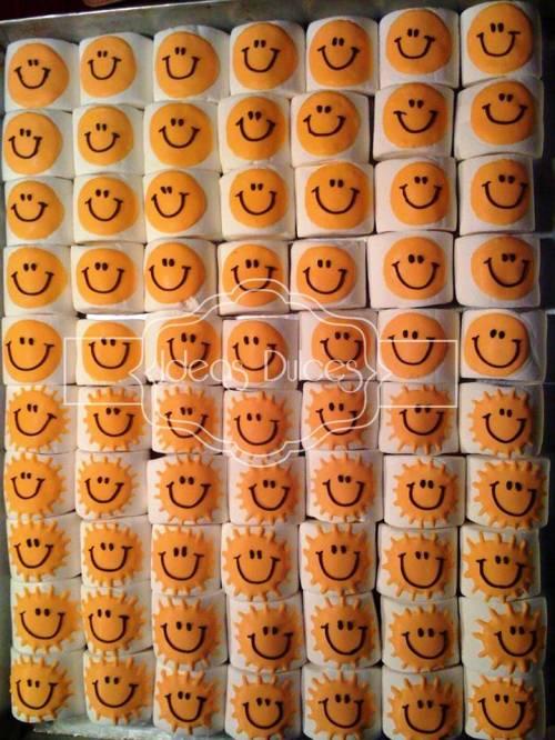 Masmelos solecito y carita feliz