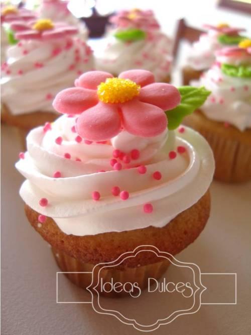 Mini-cupcake de vainilla-Frutos Rojos