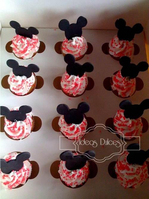 Minicupcakes para el segundo cumpleaños de Antonia