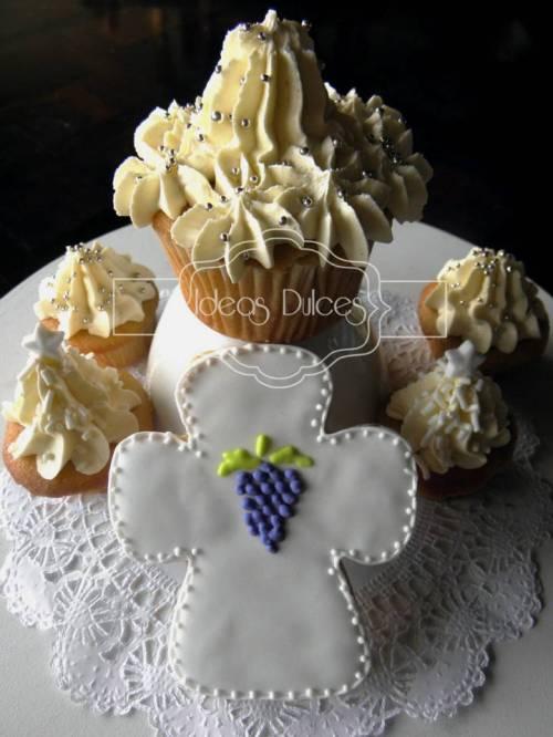 Cupcakes y Galleta Primera Comunión Niño