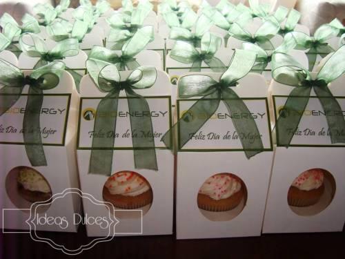 Cupcakes para el Dia de la Mujer de Bioenergy