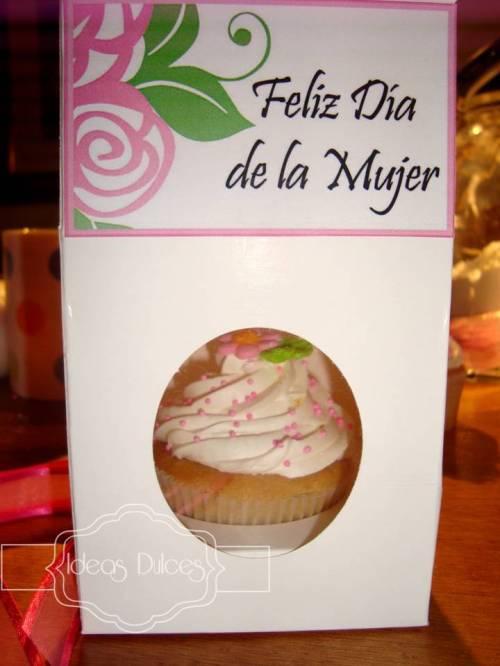 Cupcakes para la celebración el Dia de la Mujer en Ceramicas San Lorenzo