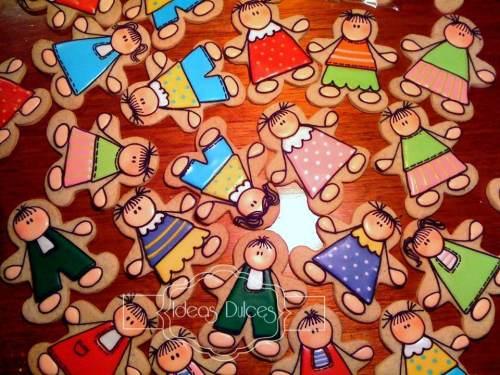 Galletas para el dia del maestro engardadas por el Colegio San Bartolomé La Merced
