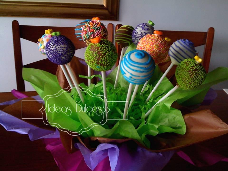Arreglo De Cake Pops Para Alexandra
