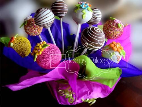 Arreglo de Cake Pops para Lorena