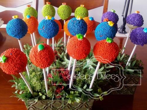Cake Pops para  para la fiesta de Circo de Jerónimo