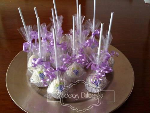 Cake Pops para la primera comunión del hijo de Jalile