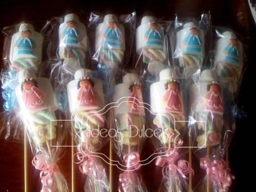 Masmelos para la Primera Comunión de los hijos de Diana