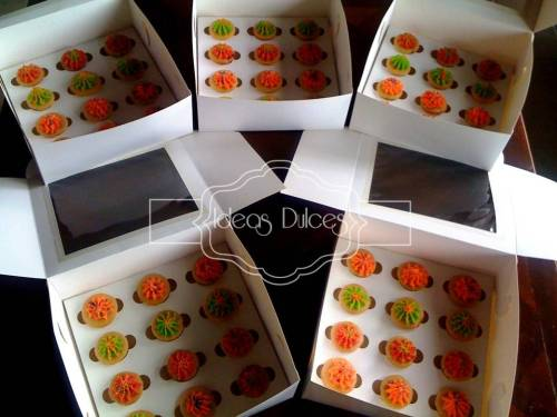Mini-cupcakes para la fiesta de Jerónimo