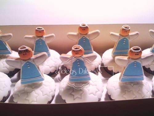 Caja de Cupcakes para la Primera Comunión de Jose Luis