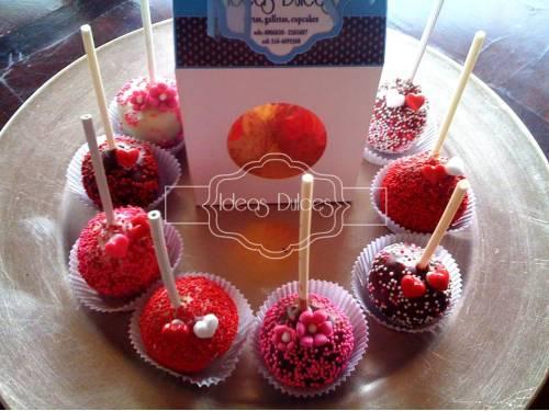 Cake pops para regalar en Amor y Amistad