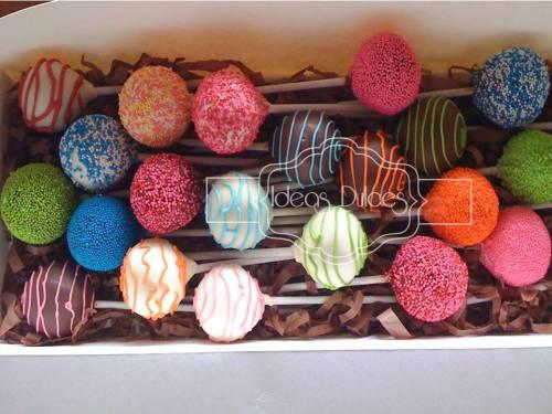 Cake pops para Imágenes y Texto Ltda