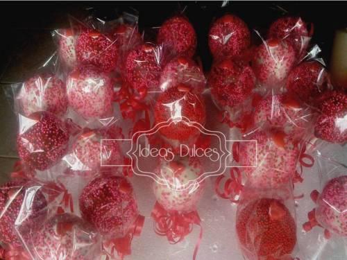 Cake pops para Tecnova TH Ltda.en Amor y Amistad