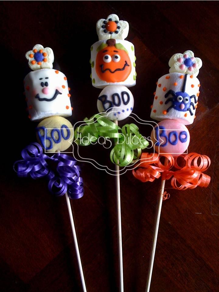 Nuestras creaciones para halloween ideas dulces
