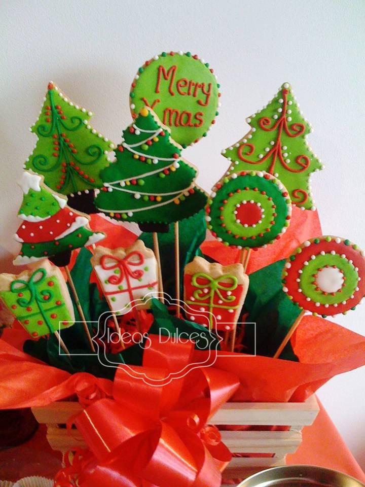 arreglo galletas arboles y regalos edicin limtada