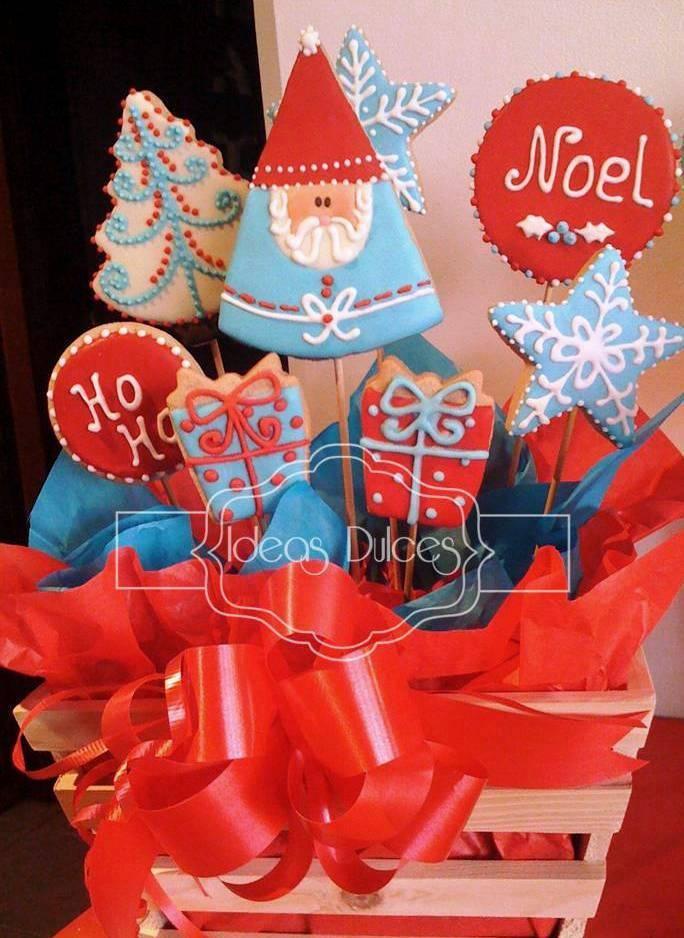 Arreglos de galletas edici n especial de navidad ideas for Arreglo para puertas de navidad
