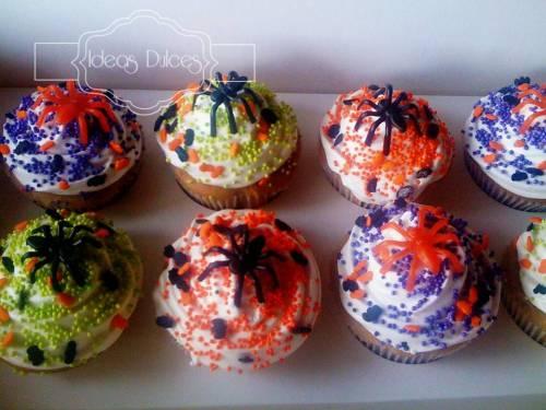 Cupcakes de Halloween para la hija de Luz Stella