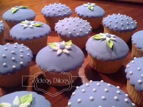 Cupcakes para la Boda de Luisa
