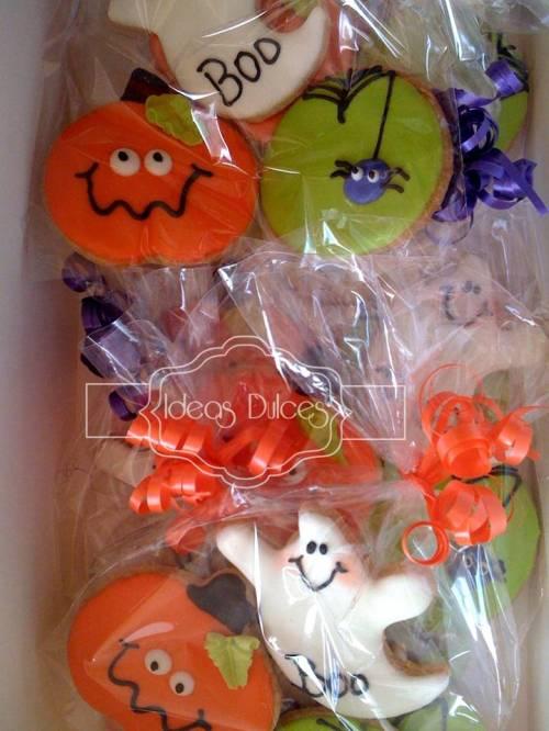 Galletas halloween para Visión Social