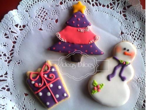Navidad en tonos morados