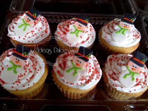 Cupcakes de Navidad para Adriana