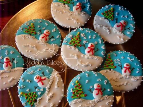 Detalle galletas  Edición Epecial de Navidad para NSC Seguros