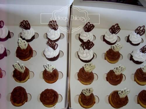 Minicupcakes para el pedido de Oscar